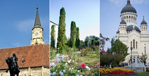 Cluj-Romania-Collage