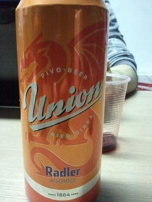 Slovenia Union Radler Red Orange Beer Pivo