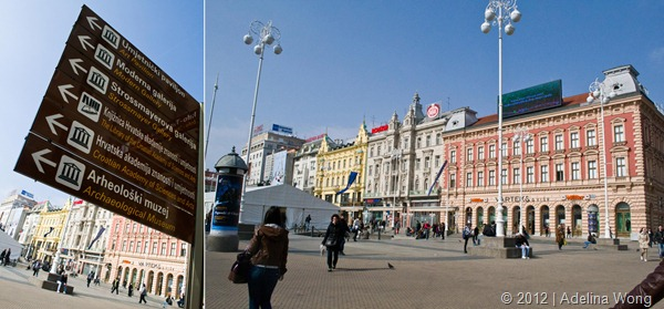 Ban Jelačić Square Zagreb Croatia