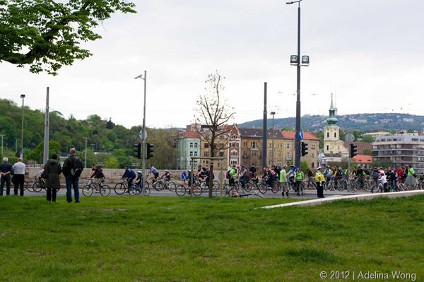Budapest Critical Mass April 22 2012