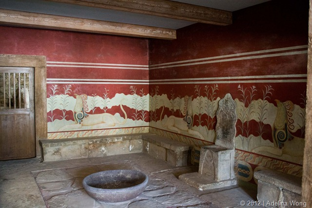 Knossos Throne Room