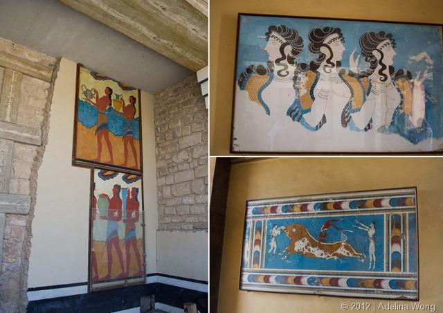 Knossos-Frescos